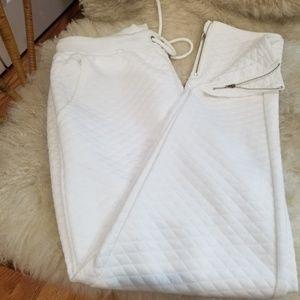 New Look white sweatpants